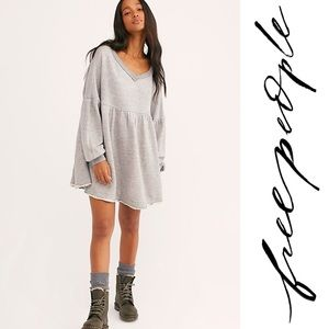 Free People - Prudence Pullover in Heather Grey